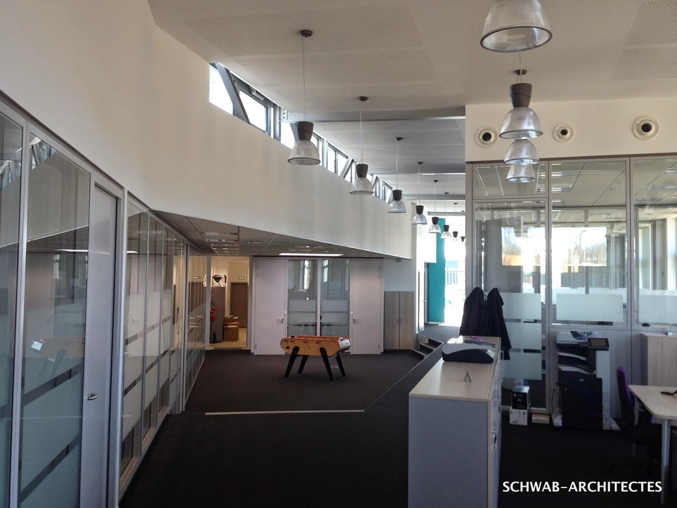 OCI Informatique  , dans une architecture en cohérence avec son esprit d'entreprise