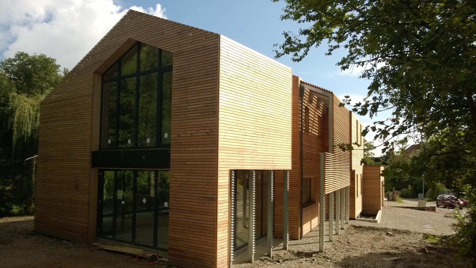 Notre réalisation  Prix du Public au Palmarès de la Construction bois 2015 !